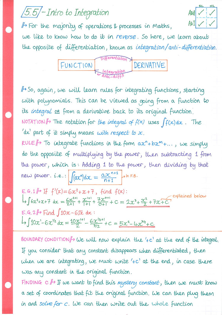 pg5 A&A HL - Topic 5 - Calculus Notes.jp