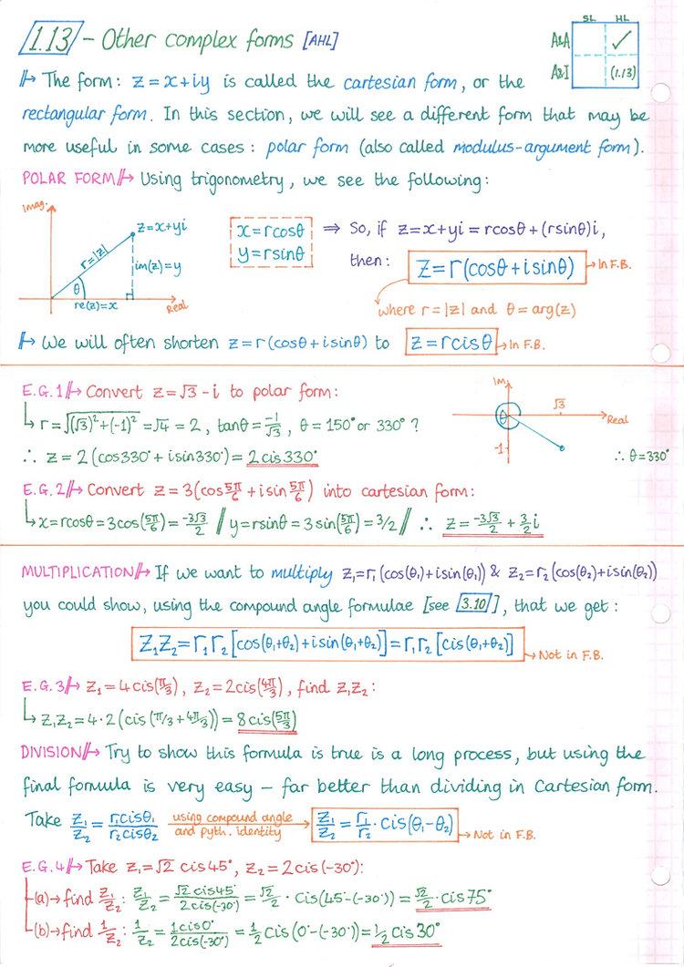 pg17 A&A HL - Topic 1 - Algebra Notes.jp