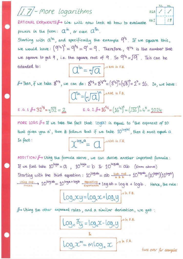 pg7 A&A HL - Topic 1 - Algebra Notes.jpg