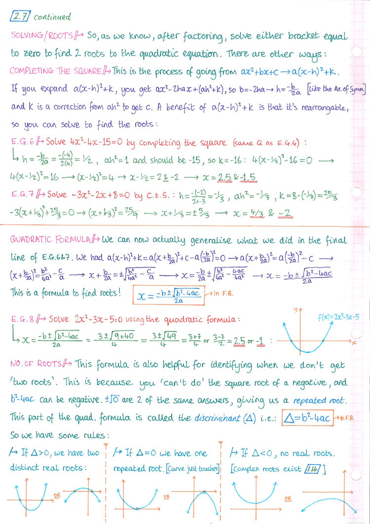 pg8 A&A HL - Topic 2 - Functions Notes.j