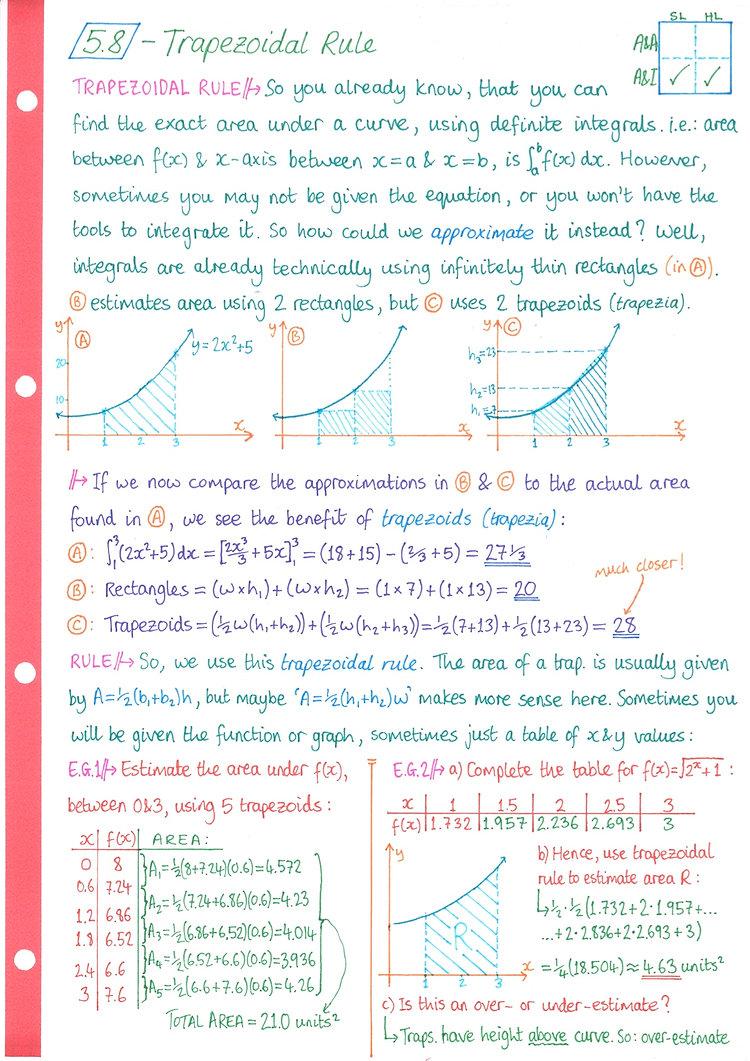 pg9 A&I SL - Topic 5 - Calculus Notes.jp
