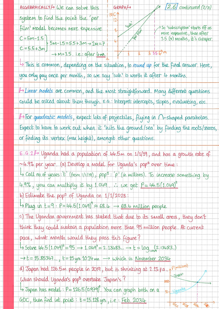 pg9 A&I SL - Topic 2 - Functions Notes.j