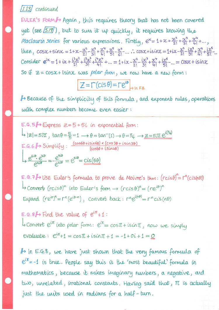 pg18 A&A HL - Topic 1 - Algebra Notes.jp