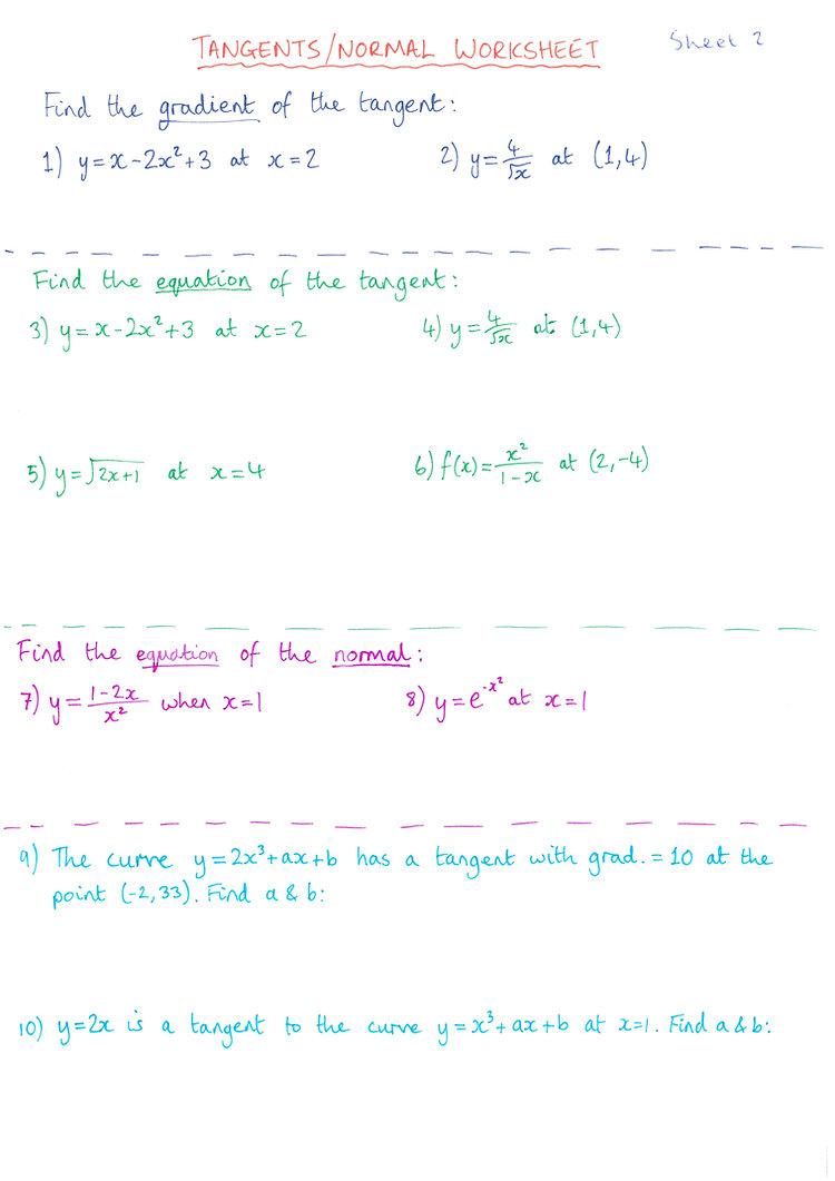 2 - Tangent:Normal Revision Sheet.jpg