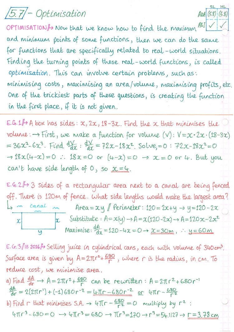pg8 A&I SL - Topic 5 - Calculus Notes.jp