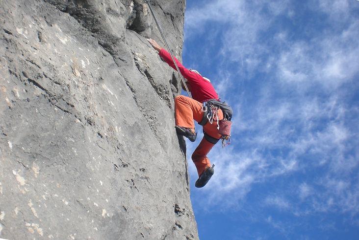 Michelini montagna arrampicata