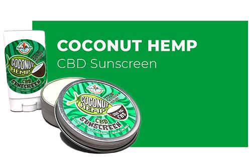 CBD Sunscreen ~ Coconut Hemp