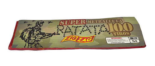 METRALLETA SUPER RATATA 100 TIROS