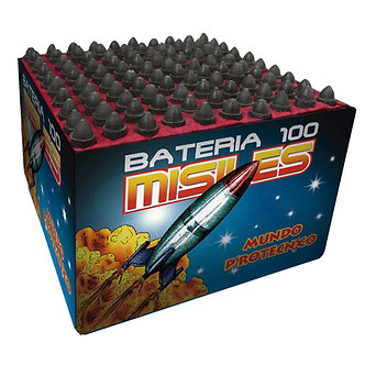 BASE 100 MISILES  c/COLA DORADA