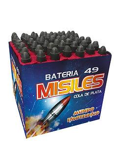 BASE 49 MISILES c/ COLA DE PLATA