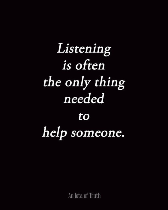 The Healing Power of Listening