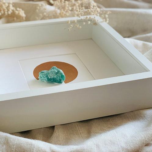 Framed Crystal AVENTURIJN