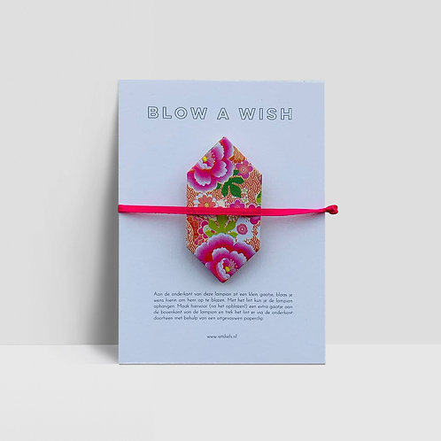 BLOW a WISH (in diverse kleuren)
