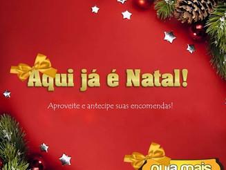Aqui já é Natal!