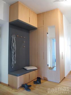 naemas Architekten - BAD SUG - Bozen - Garderobe