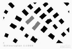 naemas Architekten - WETTBEWERB ALFIERI - Meran - Schwarzplan