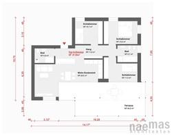 naemas Architekten - WETTBEWERB ALFIERI - Meran - Grundriss 5