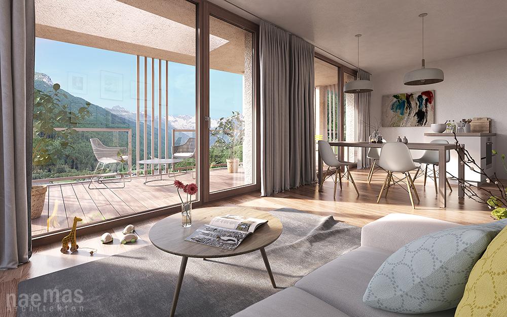 naemas Architekten - vistamonte Wohnung