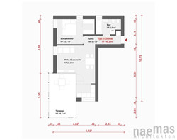 naemas Architekten - WETTBEWERB ALFIERI - Meran - Grundriss 4