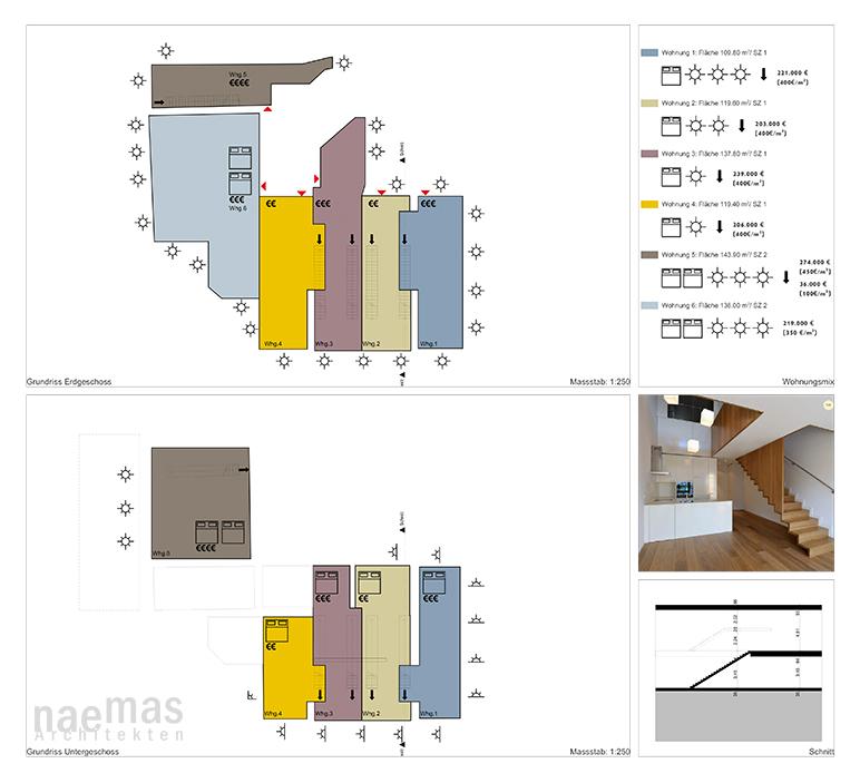 naemas Architekten_Wohnbaustudie Eppan Variante1