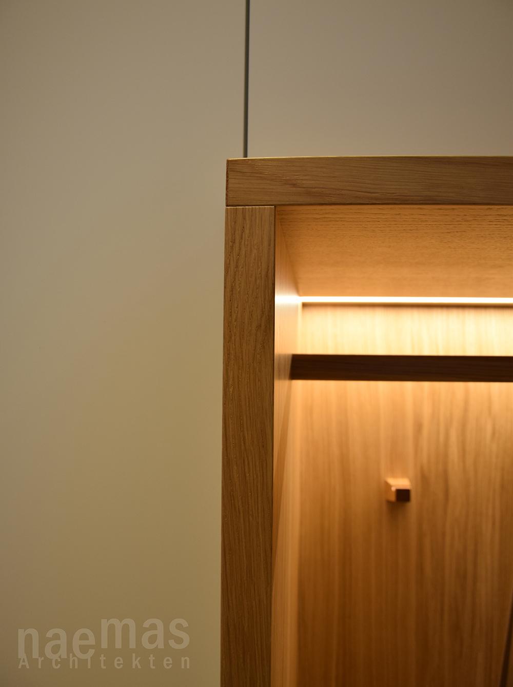 naemas Architekten - FOYER EBA - Lana - Detail Eck