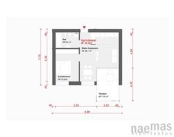 naemas Architekten - WETTBEWERB ALFIERI - Meran - Grundriss 3