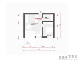 naemas Architekten - WETTBEWERB ALFIERI - Meran - Grundriss 2