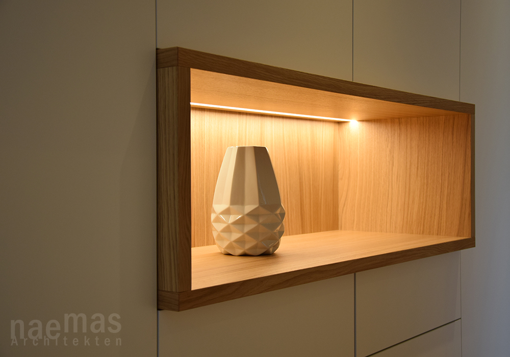 naemas Architekten - FOYER EBA - Lana - kleine Nische 02