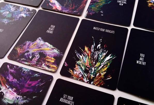 Crystal Calm Cards
