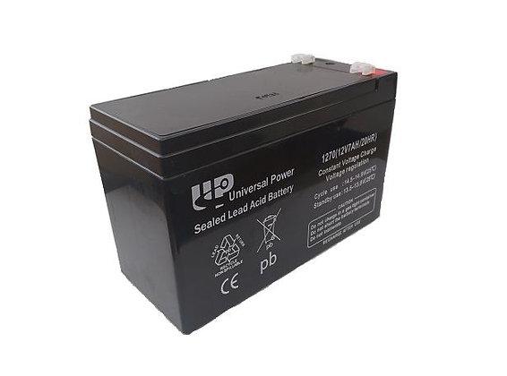 BAT-GB12V-7AH 12 Volt 7amp Battery Black