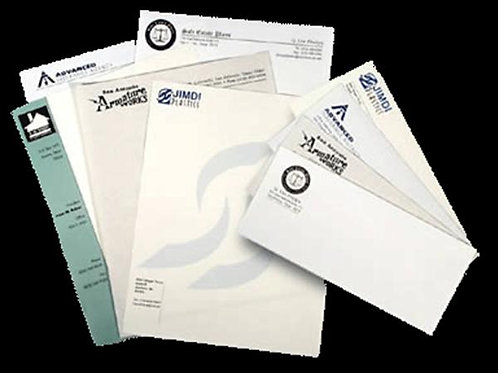Envelopes and Letter Heads