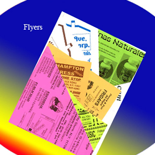 Flyers - Volantes - Brochures