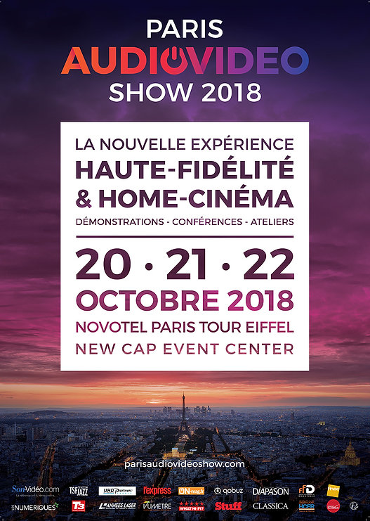 Paris Audiovideo show 2108