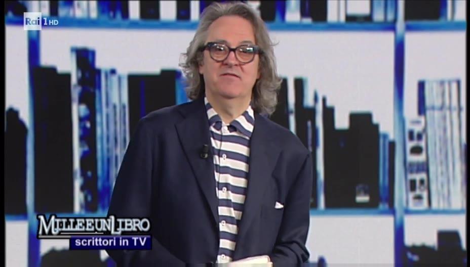 Cecilia Martino Rai 1 Milleeunlibro Scrittori in TV