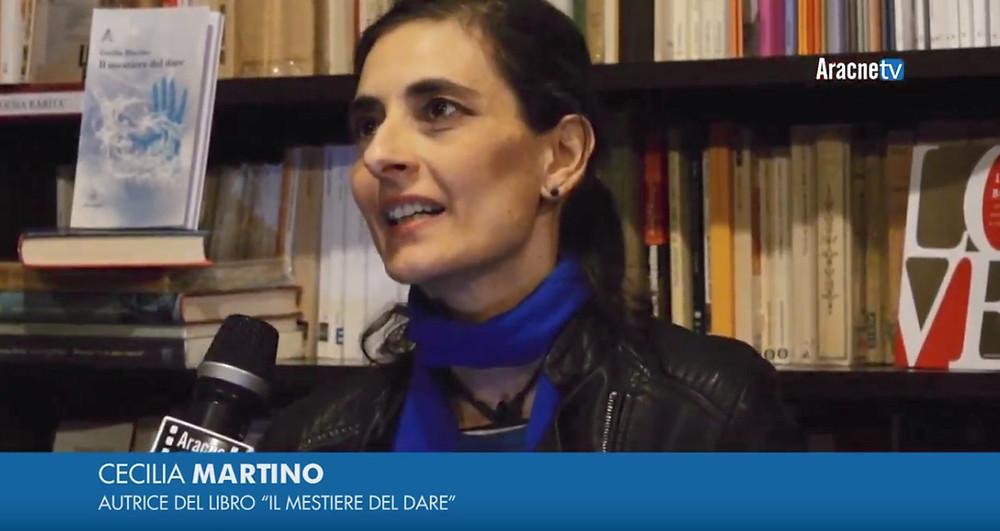 Cecilia Martino autrice Il mestiere del dare