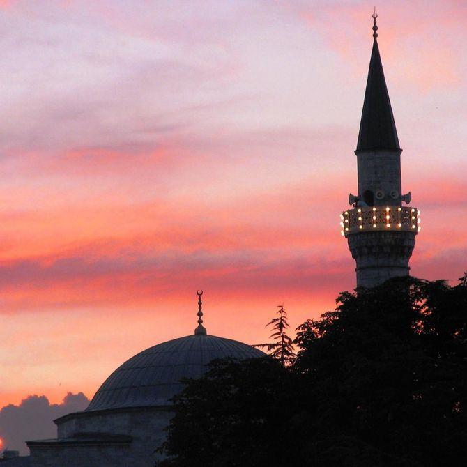 Istanbul, i colori del tramonto a Sultanahmet  Foto ©CECILIA MARTINO