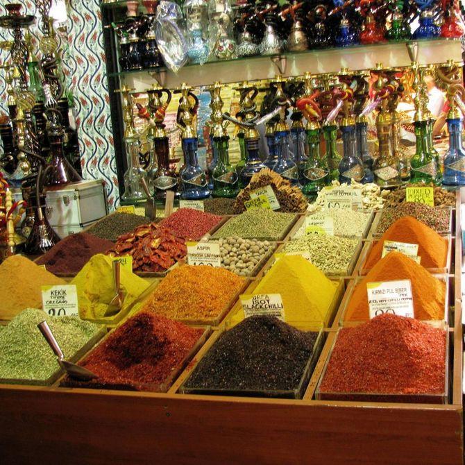 Istanbul mercato egiziano delle spezie Foto ©CECILIA MARTINO