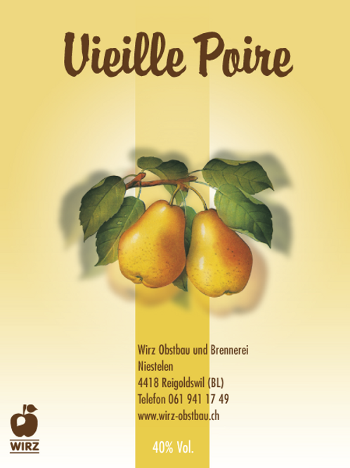 Vieille Poire 10 cl