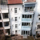 Vorbau in Stahl und Glas. Meier Metallbau Allschwil