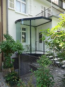 Balkonvorbauten. Meier Metallbau Allschwil.