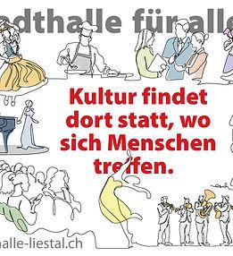 Flyer bild Stadthalle Liestal