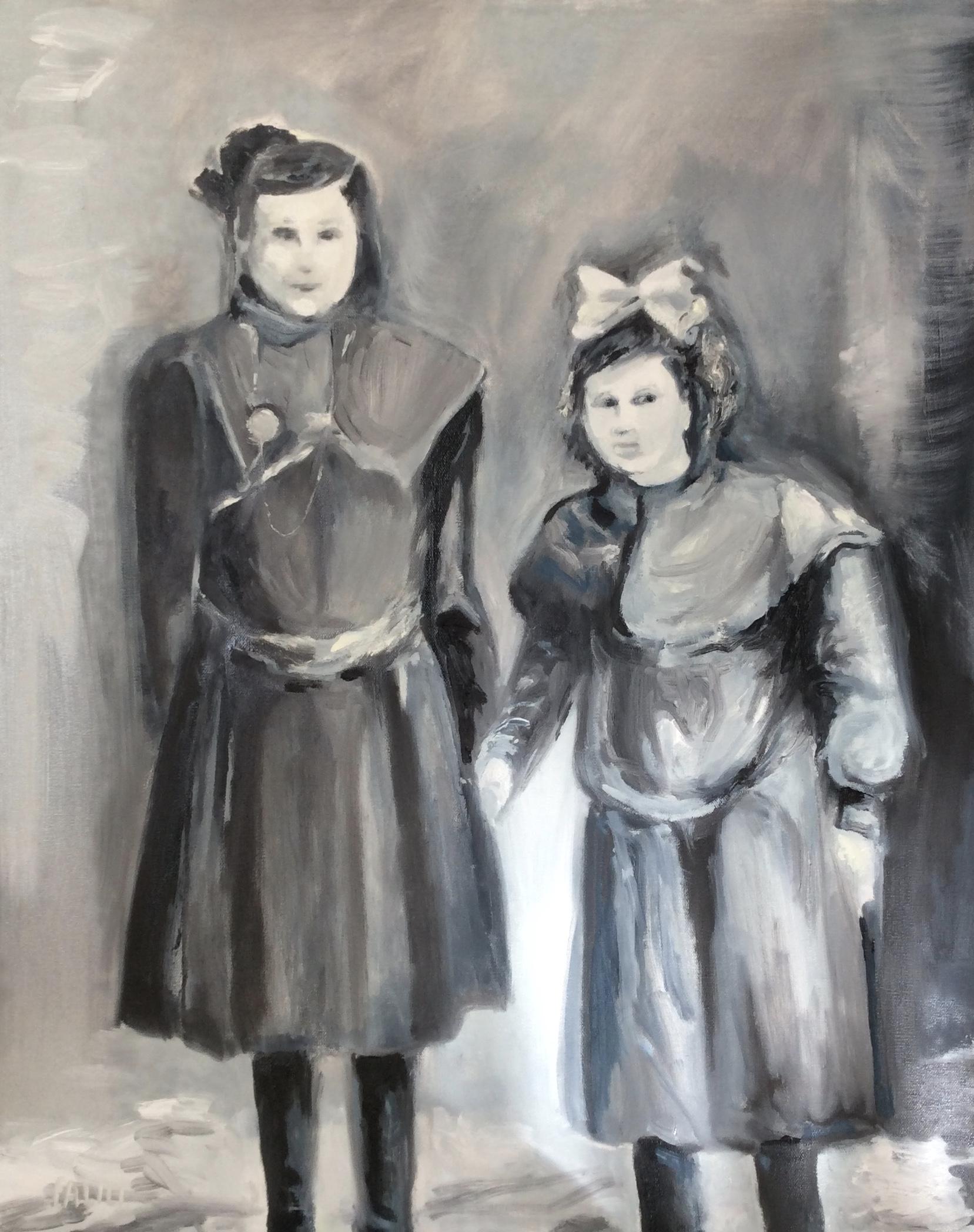 Sisters - Circa 1908
