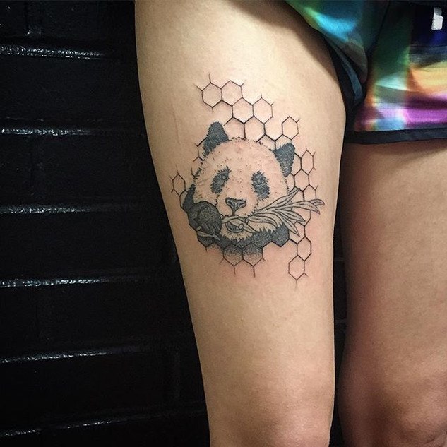 Had fun with this rad #pandatattoo email