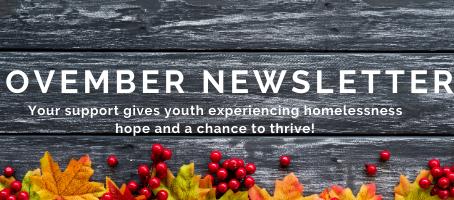 Star House November Newsletter