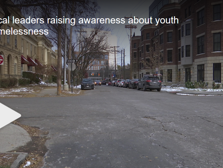 Local leaders raising awareness about youth homelessness