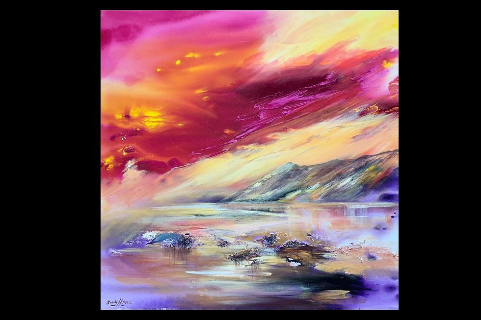 Sandy Hillyer BA(Hons) Fine Art | Crantock Bay | Original