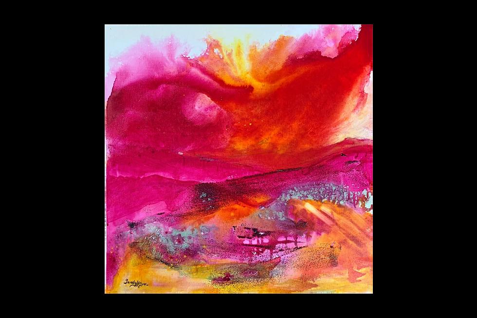 Sandy Hillyer BA(Hons) Fine Art | Warm Winds from the South | Original