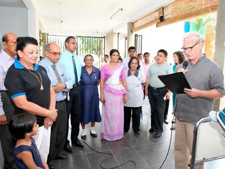66 Spitalbetten für Sri Lanka