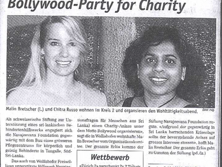 Bollywood-Party for Charity