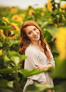 makeup, hair, sunflower, picture, photography